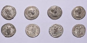 Ancient Roman Imperial Coins - Severan Denarii Group [4]