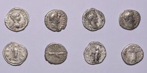 Ancient Roman Imperial Coins - Severan and Earlier Denarii Group [4]
