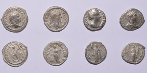 Ancient Roman Imperial Coins - Severan and Earlier Denarii Group [4]