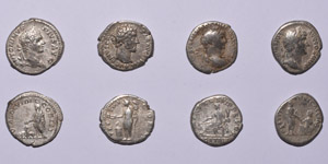 Ancient Roman Imperial Coins - Mixed Denarii Group [4]