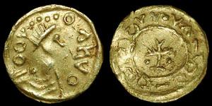 Anglo-Saxon - Imitative Tremissis