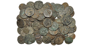 India - Kushan Mixed Coppers Group [100]