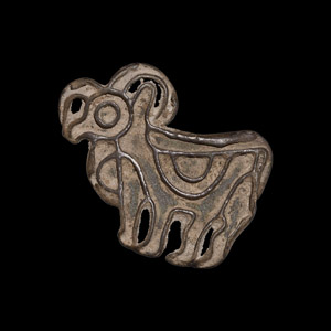 Indus Valley Stamp Seal with Ram