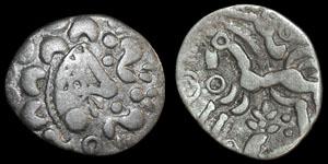 British Celtic - Dobunni - Silver Unit