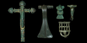 Roman - Group of Five Bronze Brooches