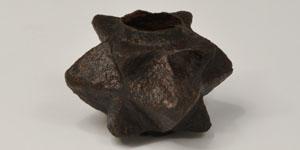 Medieval - Pyramid-Spiked Iron Mace Head