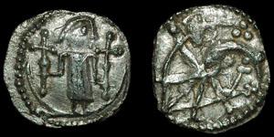 British Anglo-Saxon - Series U, type 23b - Sceatta