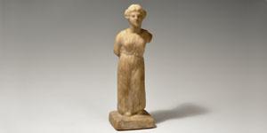 Greek - Hellenistic Marble Figure of a Goddess