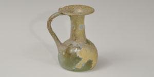 Roman - Irredescent Glass Juglet