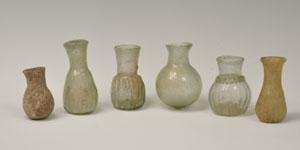 Roman - Group of Six - Glass Vessels