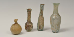 Roman - Group of Four - Glass Vessels