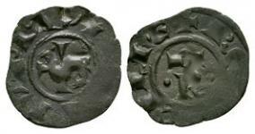 World Coins - Sicily - Manfred von Hohenstaufen - Denaro