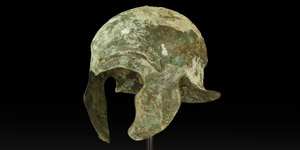Greek One-Piece Helmet of Chalcidian Type