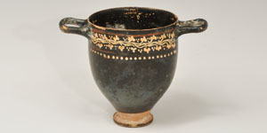 Greek - Gnathian Ware Painted Skyphos