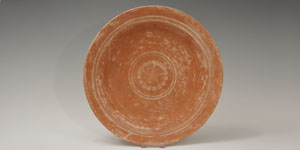 Roman - Decorated Red Ware Platter