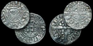 English Medieval - Henry III and Edward I Pennies - Bury St Edmunds Mint