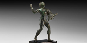Etruscan Young Hercules Statuette