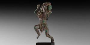 Roman Statuette of a Satyr