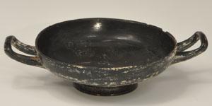 Greek - Gnathian Black Glazed Kylix