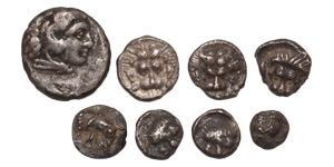 Ancient Greek Coins - Mixed Small Silvers Group [5]