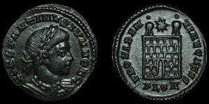 Roman Empire - Constantine II - AE Follis