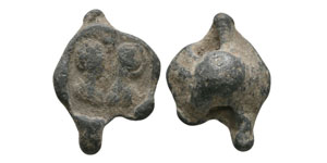 Ancient Byzantine Coins - Figural Lead Seal