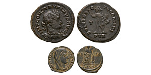 Ancient Roman Imperial Coins - Constantine I - Follis and Posthumous Bronzes [2]