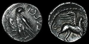 British Celtic - Tasciovanus - Griffin - Silver Unit