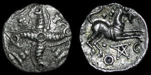 British Celtic - Dragon Cross - Trinovates - Silver Unit