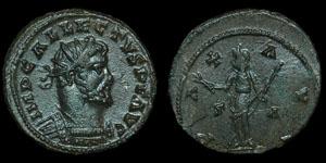 Roman Empire - Allectus - AE Antoninianus