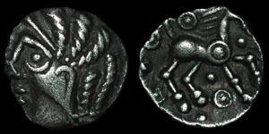 British Celtic - Catuvellauni - Waddam Goat - Silver Unit