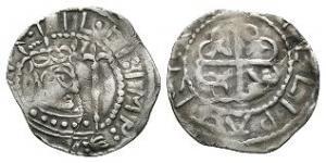 Norman Coins - Empress Matilda - Pembroke / Gillapaidrig - Unique Cross Moline Penny