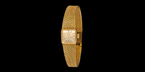 Vintage Rotary 9ct Gold Ladies Wrist Watch