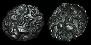 British Celtic - Trinovantes - Thatchers Sister - North Thames Silver Unit