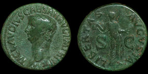 Roman Empire - Claudius - AE As