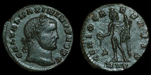 Roman Empire - Maximinus II - AE Follis