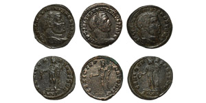 Ancient Roman Imperial Coins - Folles Group [3]