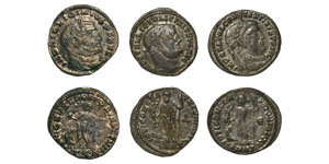Ancient Roman Imperial Coins - Licinius - Folles Group [3]