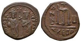 Ancient Byzantine Coins - Phocas - Large M Follis
