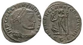 Ancient Roman Imperial Coins - Constantine I (the Great) - Jupiter Follis