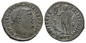 Ancient Roman Imperial Coins - Licinius - Jupiter Follis