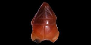 Egyptian Carnelian Frog Amulet