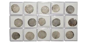 World Coins - Islamic - Rasulid - Animal Dirhams [15]