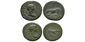 Ancient Roman Imperial Coins - Trajan - Quadrans [2]
