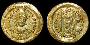 Byzantine - Marcianus - Gold Solidus