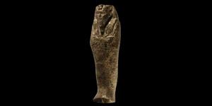 Egyptian Rhyolite Shabti for King Senkamanisken