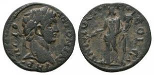 Ancient Roman Provincial Coins - Caracalla - Antioch Pisidia - Bronze