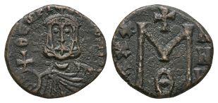 Ancient Byzantine Coins - Theophilos - Portrait Follis