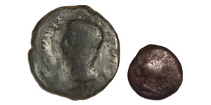 Ancient Roman Provincial Coins - Augustus - Spain - Cordova - Semis and Sestertius [2]