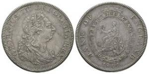English Milled Coins - George III - 1804 - Bank of England Dollar